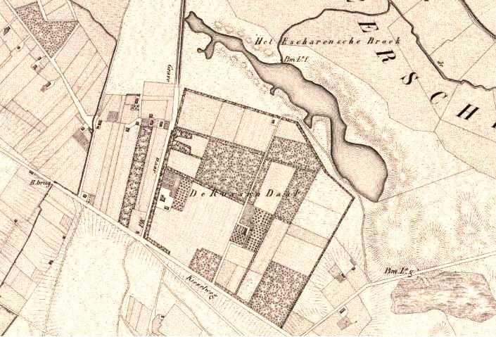 De Russendaal kaart datering 1850-1851