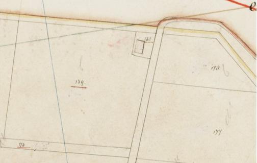 Kadasterkaart (minuutplan) Sectie C 138 139