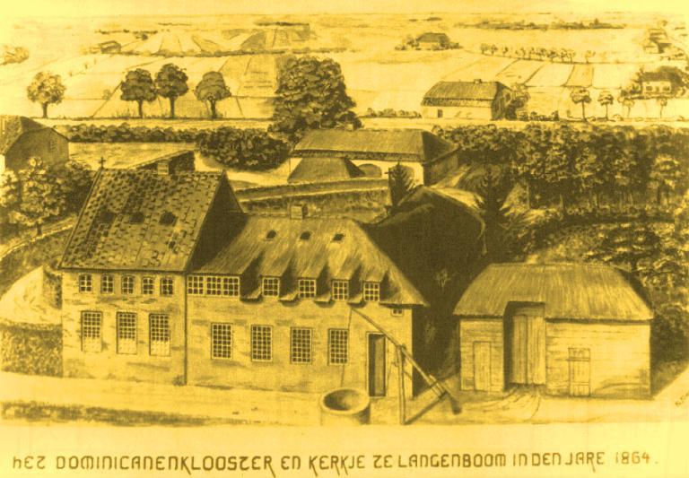 Dominicanenklooster Langenboom 1864